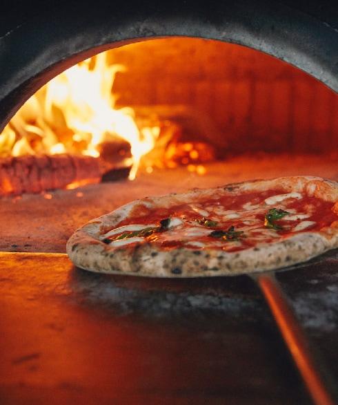 Margherita Pizza Via Napoli