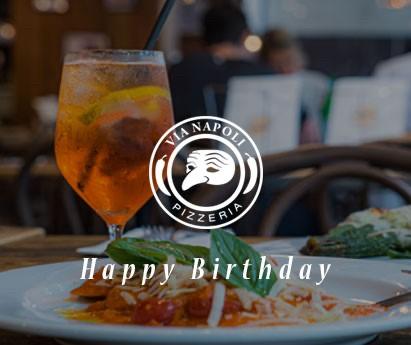 Via Napoli Happy Birthday Gift Voucher