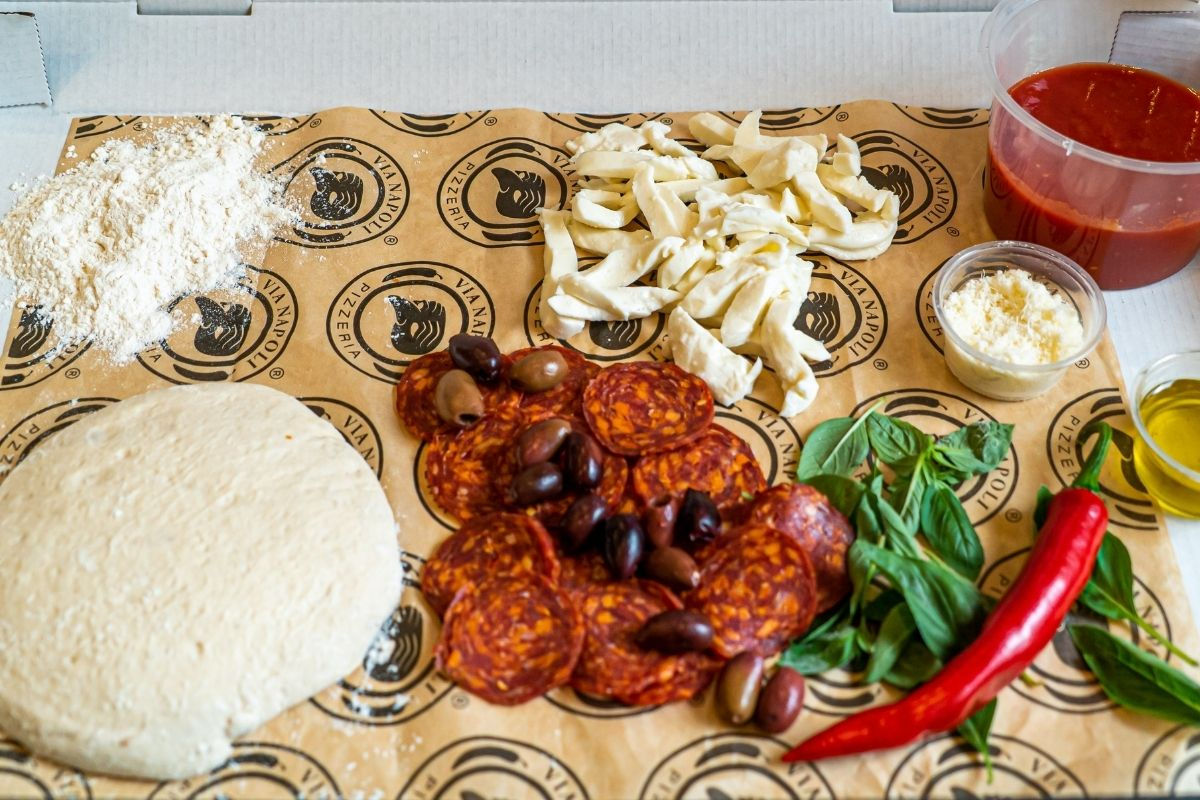 Via Napoli Pizza Kit